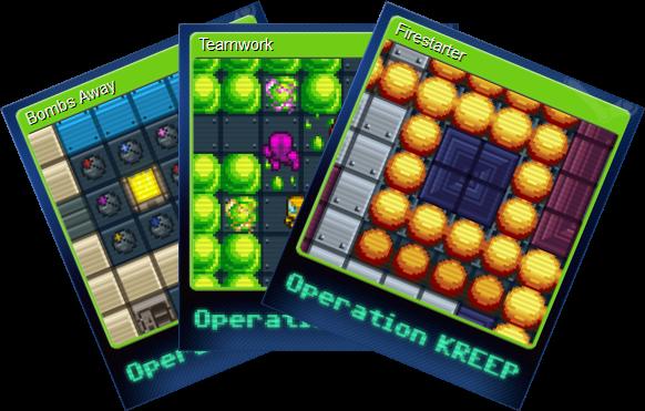 Operation KREEP Steam Trading Cards